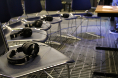 Listening arrangement for audiovisual experience, Anton Kozlov