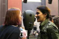 Binaural empathy simulator - at HIVE, 'a Sono-Ocular Study', 2019