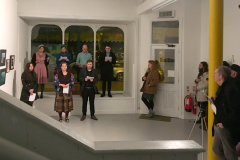HIVE performing #votesforwomen at PS2 Gallery, Belfast 2018 for International Women's Day